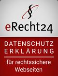 Erecht24 Siegel Datenschutz Rot, Kardiologische Gemeinschaftspraxis Kampstraße